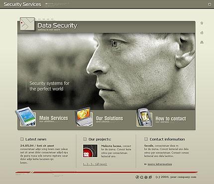 Шаблон сайта на Flash (6999)