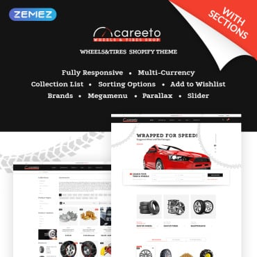Preview image of Careeto - Fancy Car Parts Online Store