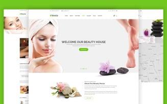 Beautyhouse - Health & Beauty Website Template