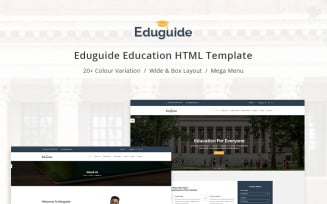 Eduguide - Education Website Template