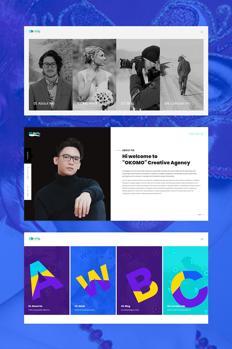 Okomo - Creative Portfolio №69013