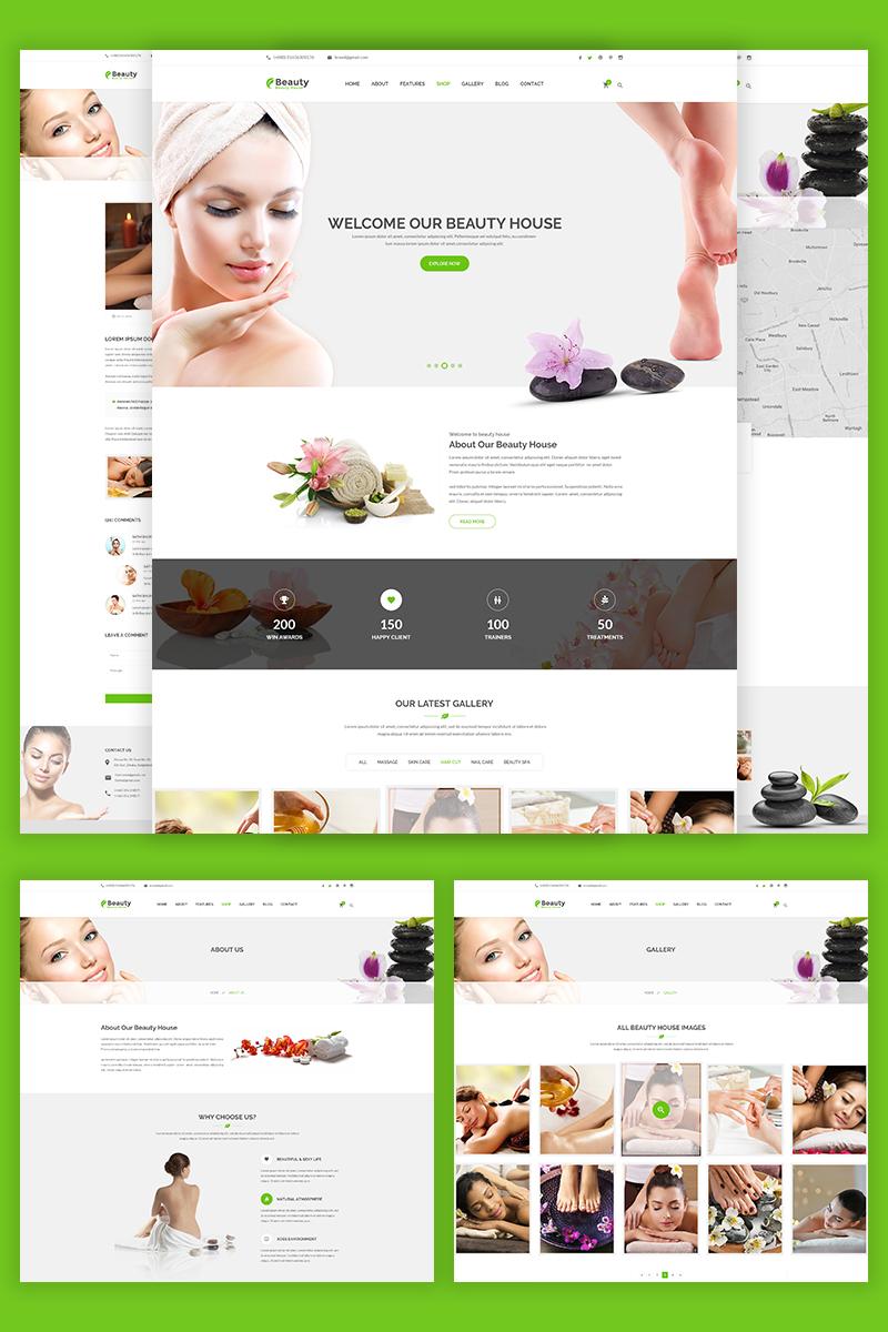 Reszponzív Beautyhouse - Health & Beauty Weboldal sablon 69065