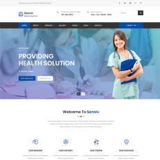 112 best medical website templates