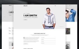 Smarto - Creative Portfolio Website Template