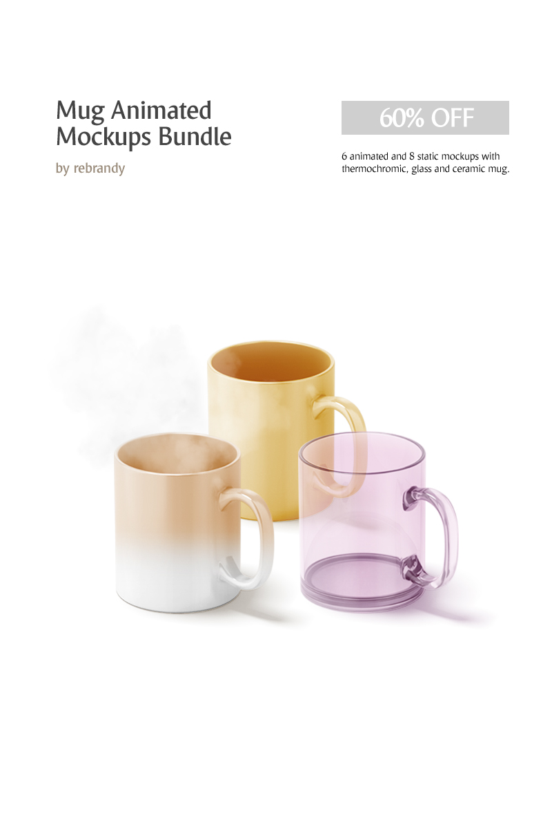 "Template Bundle #69061 ""Mug Animated"""