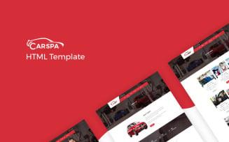 Carspa - Car Wash Website Template
