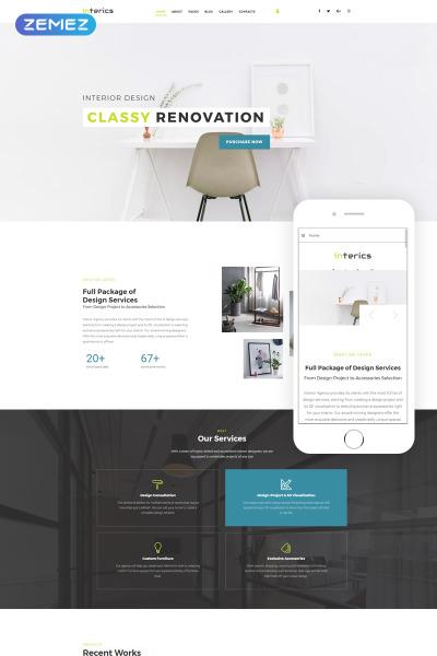 Joomla Template Material Design