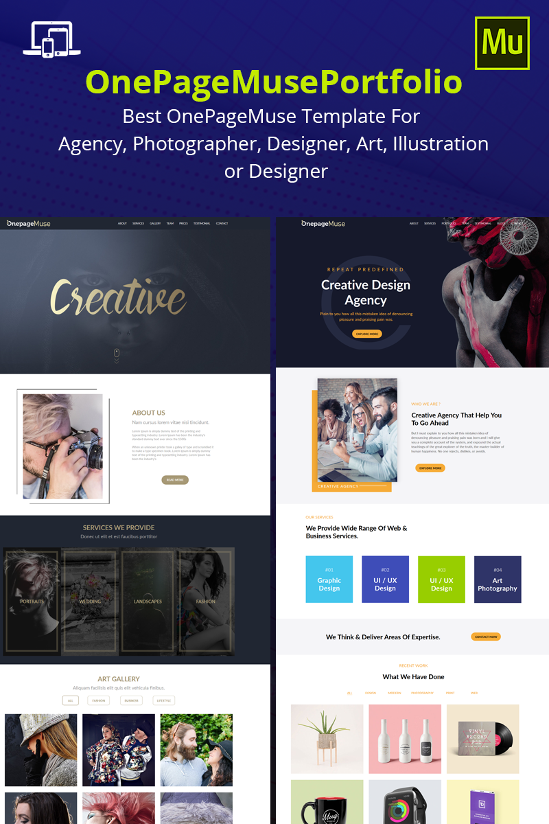 "Muse Template namens ""Auram"" #69169"