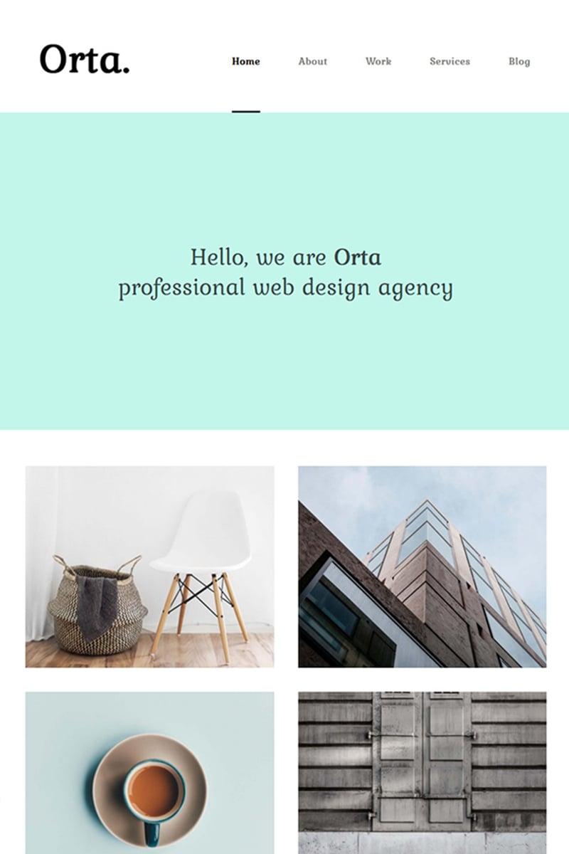 """Orta - Photography & Personal Blog"" - адаптивний WordPress шаблон №69175"
