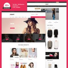c04c5297699 Plantillas Web para Sitios de Moda