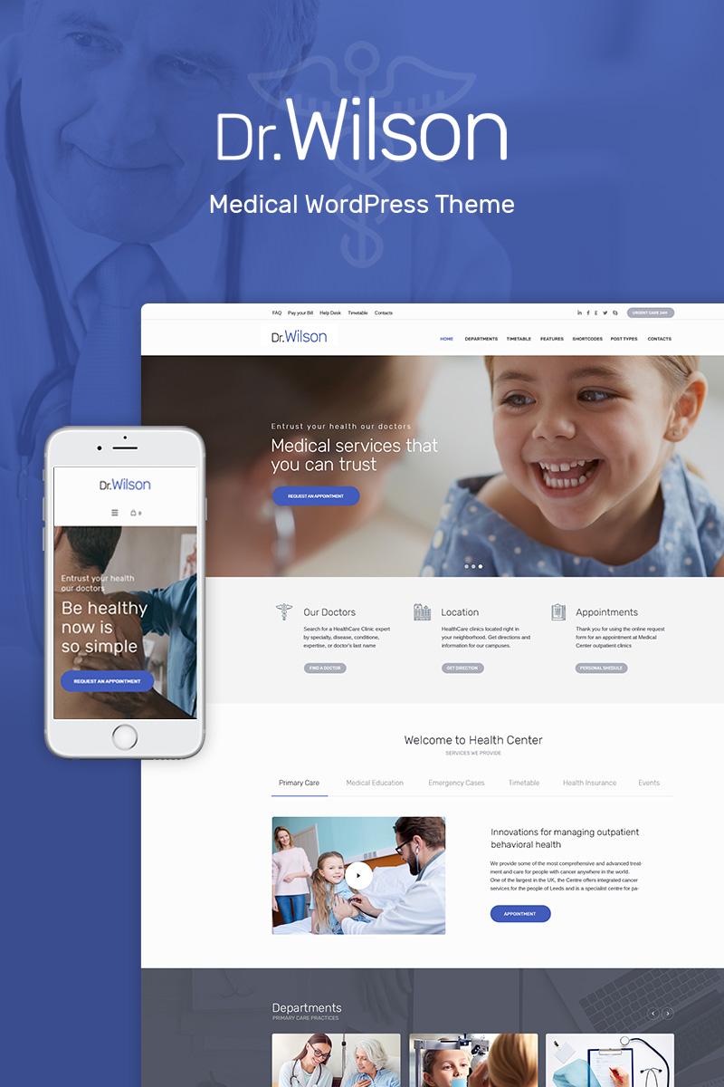 Reszponzív Doctor Wilson - WordPress sablon 69101