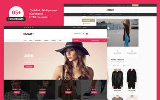 The Mart Multipurpose e-commerce Website Template