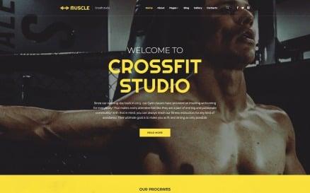 Muscle - Sports Clean Joomla Template