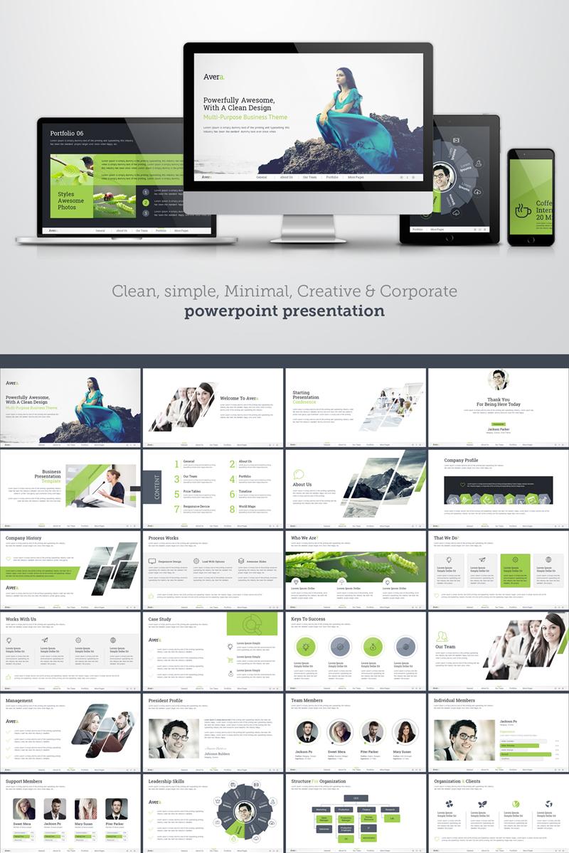 PowerPoint Vorlage #69261 für Werbeagentur