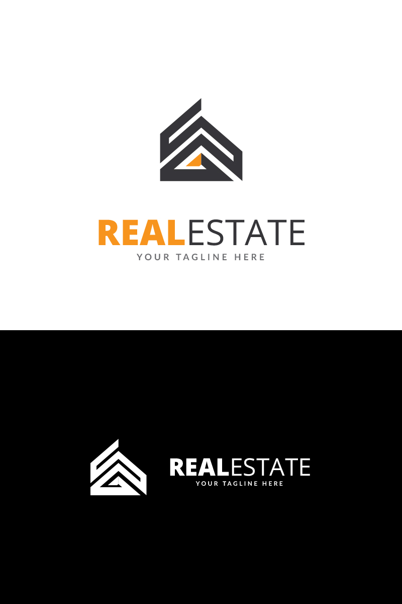 real estate business logo template  69205