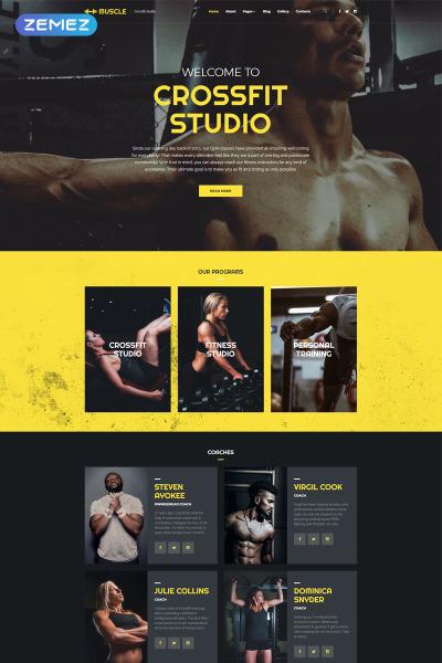 Flexível template Joomla №69232 para Sites de Esporte