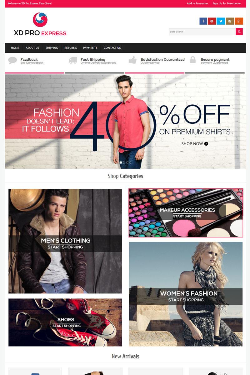 Design ebay templates download store