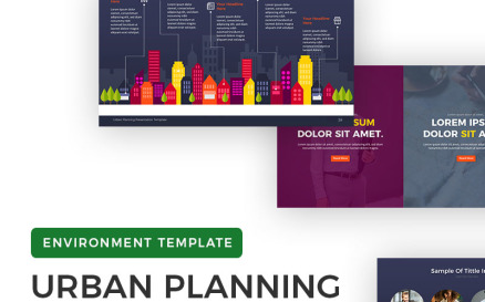 Urban Planning Presentation PowerPoint Template