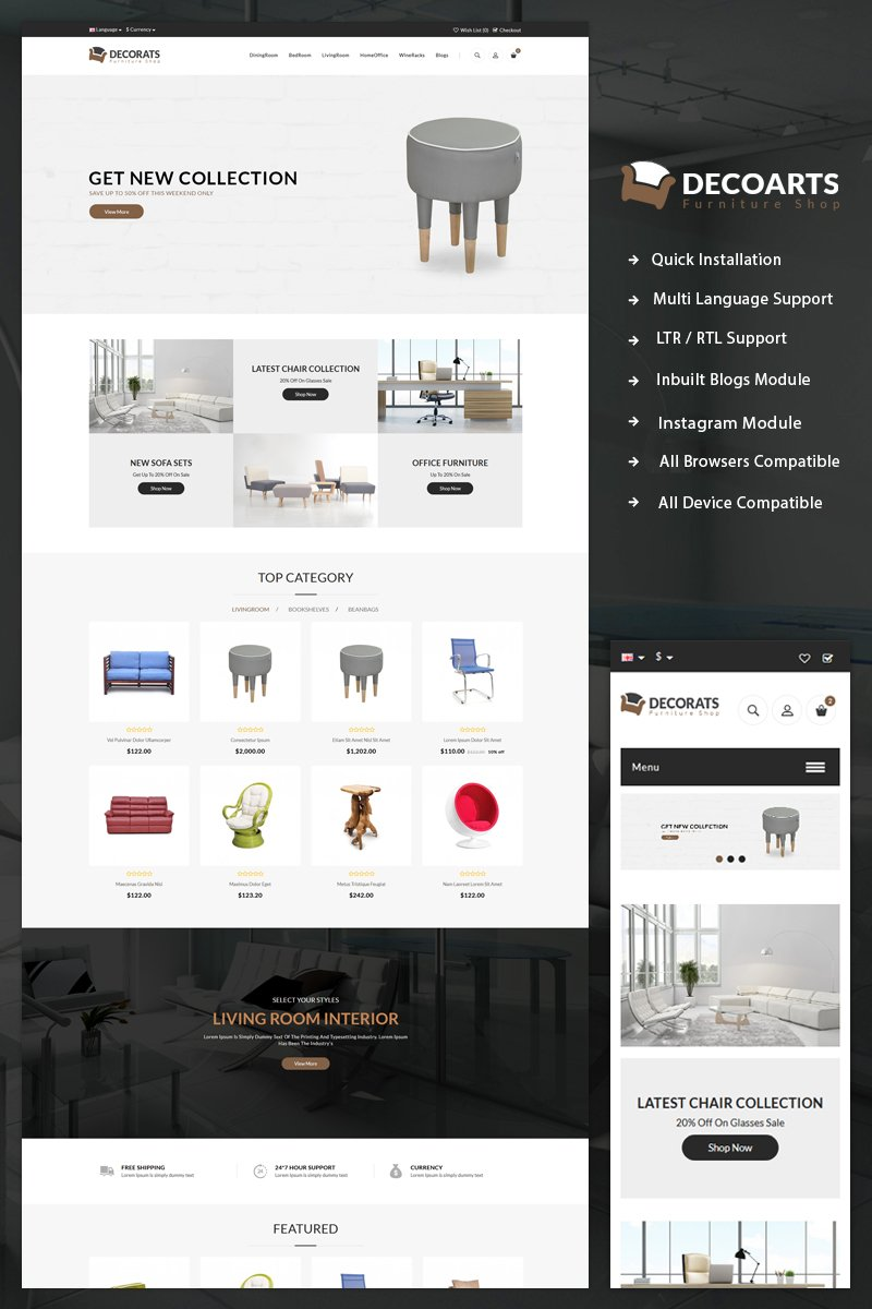 Website Template 69312 Html5 Blog Css2 Custom Website Template