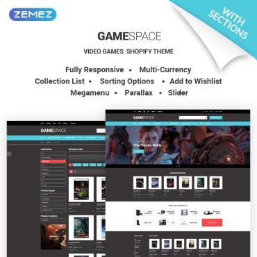 Preview image of Game Space - Cool Video Games Store