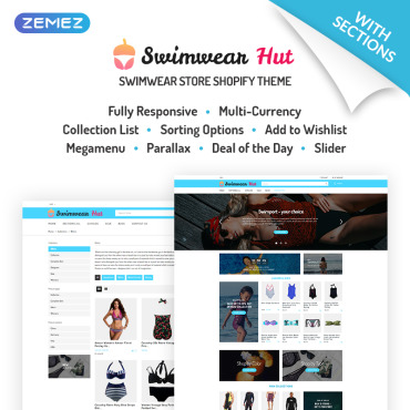 Preview image of Swimwear Hut - Swimwear Store