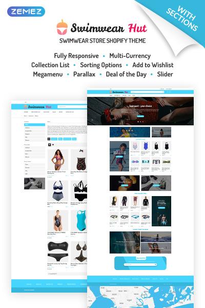 Simkläder Responsivt Shopify-tema