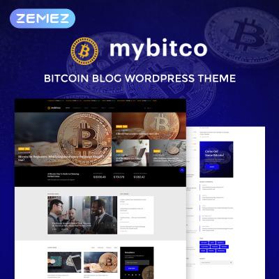 Cryptocurrency blog wordpress theme
