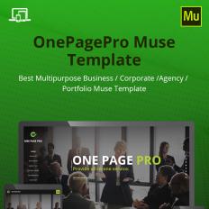 Design photography muse templates templatemonster onepagepro maxwellsz