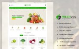 """OpenCart шаблон """"FreshVeg - Vegetable Shop"""""""