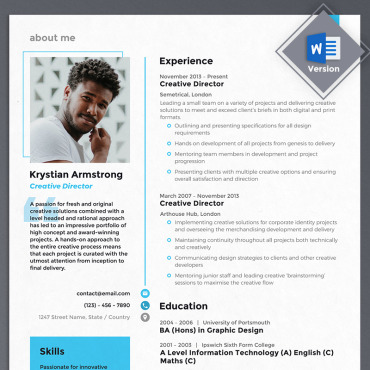 Preview image of Krystian Armstrong - Creative Director
