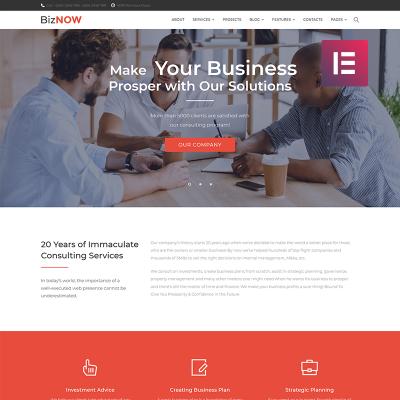 Mejores Temas de WordPress para Sitios de Empresas