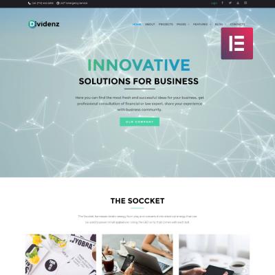 Temas WordPress para Sitios de Finanzas | TemplateMonster
