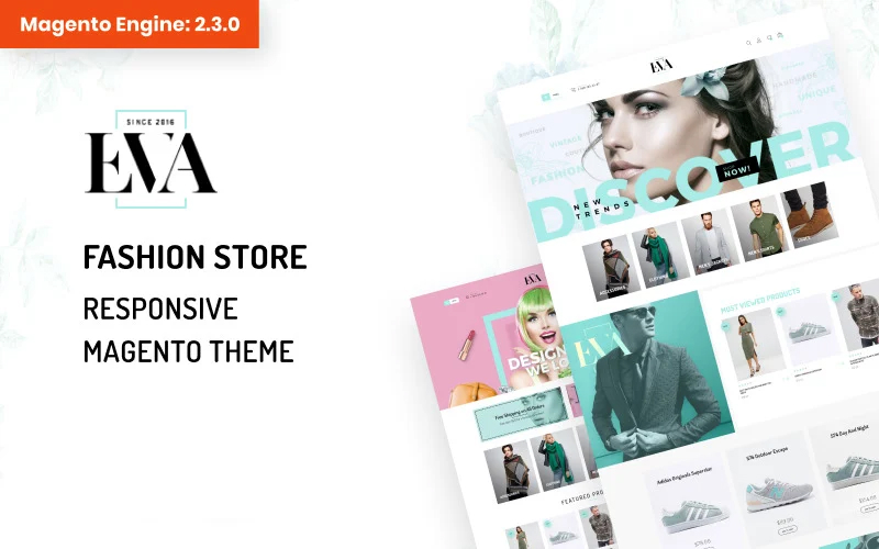 EVA - AMP Fashion Store Magento Theme