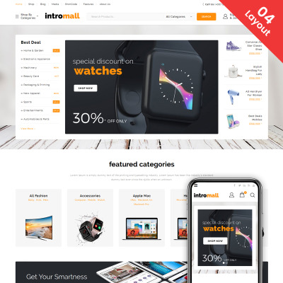 Best 528 woocommerce themes 2018 templatemonster fandeluxe Choice Image