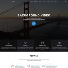 Bootstrap business services wordpress themes kanter corporateportfolioagency bootstrap accmission Image collections