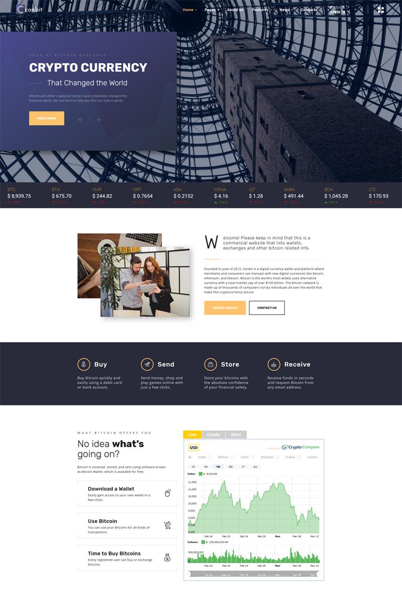 "Plantilla Web ""Conbit - Corporate & Creative Projects Multipage"" #69401"