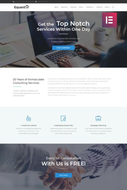 WordPress Themes - Vendors - podgląd nr #597049