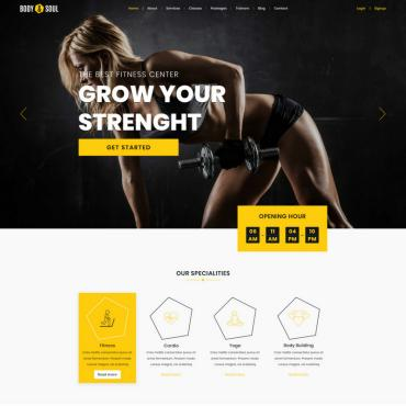 Preview image of Body & Soul - Gym & Fitness