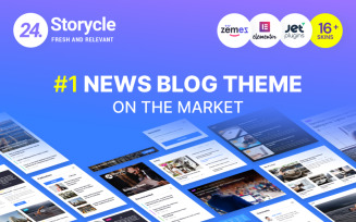 24.Storycle - Multipurpose News Portal WordPress Elementor Theme