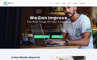 SEOMentro - SEO Agency Responsive Clean Joomla Template