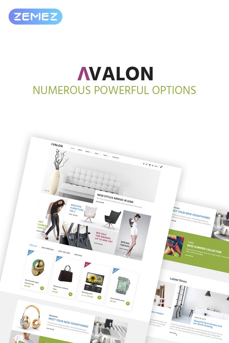 Avalon - Furniture Store Elementor WooCommerce Theme - screenshot