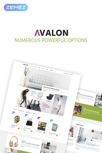 Avalon - Furniture Store Elementor