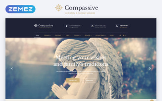 Compassive - Cemetery & Funeral Services HTML5 Website Template