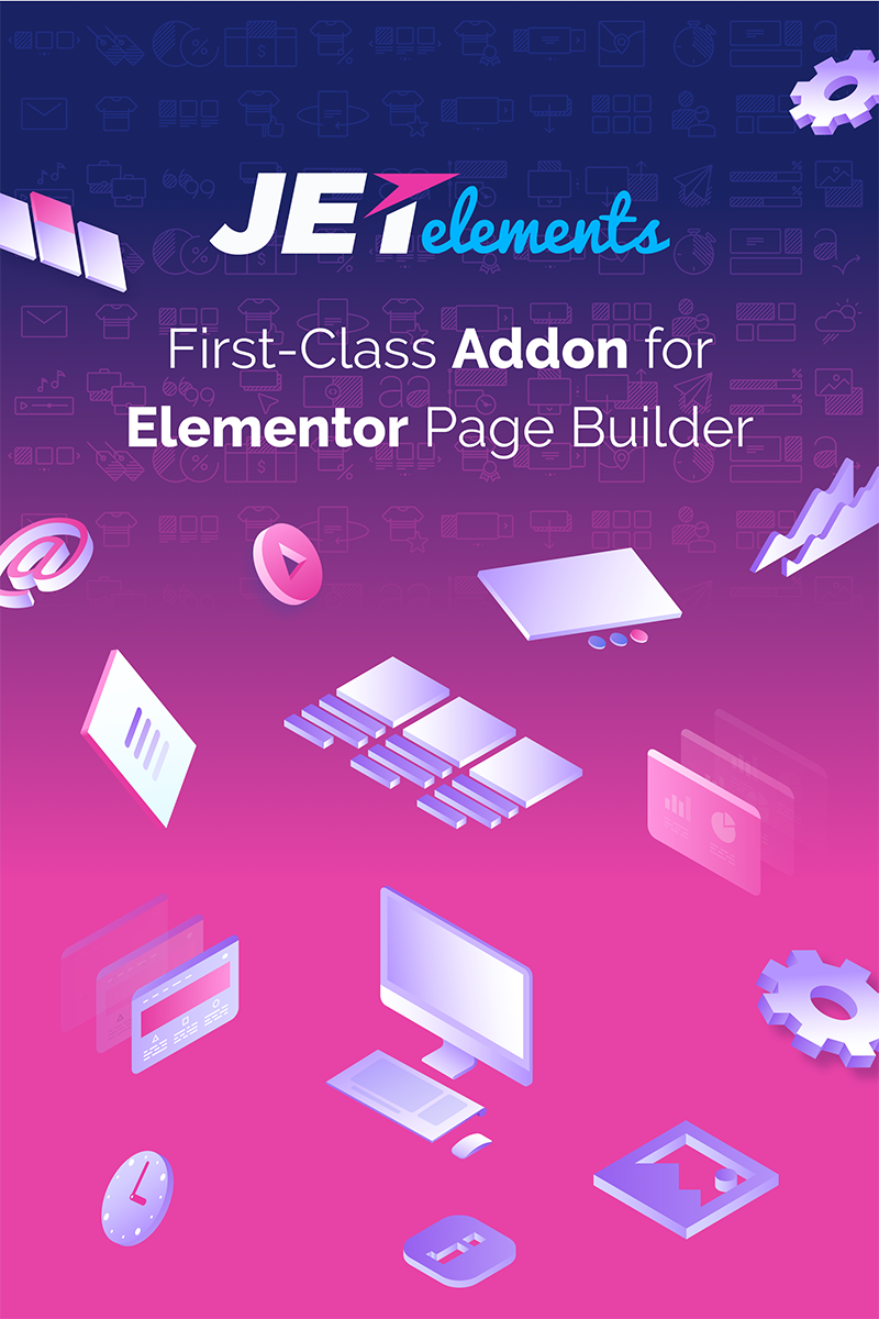 """JetElements - Addon for Elementor Page Builder"" WordPress Plug-in №69508"