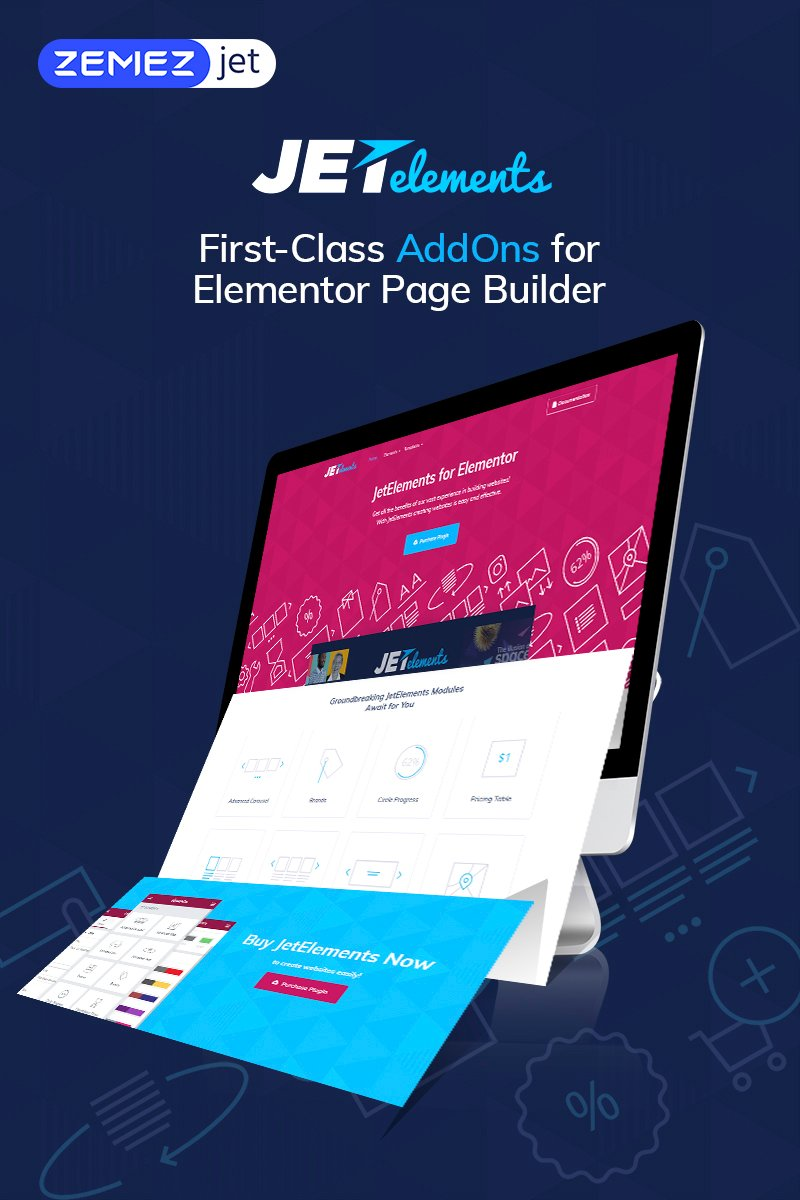 JetElements - Addon for Elementor Page Builder WordPress Plugin #69508