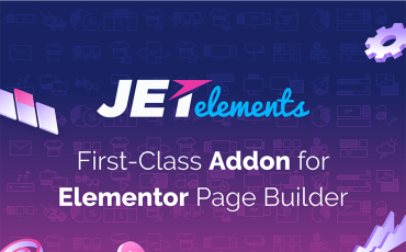 JetElements - Addon for Elementor Page Builder WordPress Plugin