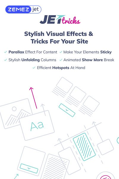 JetTricks - Visual Effects Addon for Elementor WordPress Plugin #69529
