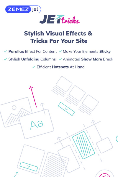 JetTricks - Visual Effects Addon for Elementor WordPress Plugin #69529
