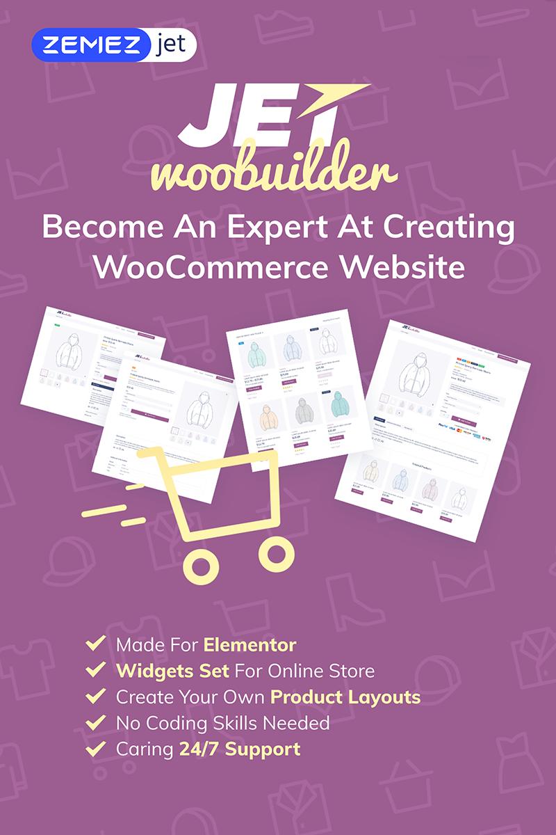 """""""JetWooBuilder - Addon de constructeur de page Elementor WooCommerce"""" wordPress Plugin  #69528"""