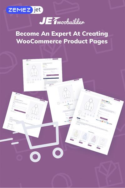 JetWooBuilder - Construtor de Paginas WooCommerce para Elementor Plugin WordPress №69528 #69528